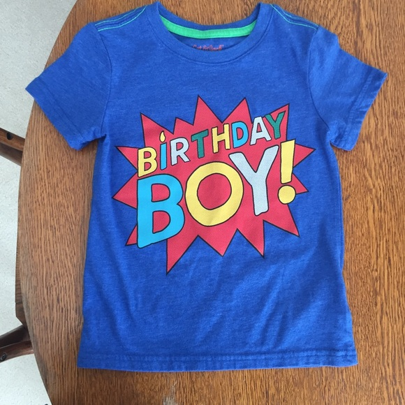 Birthday Boy Shirt 4T M 5acbcc298290af9752a45fba